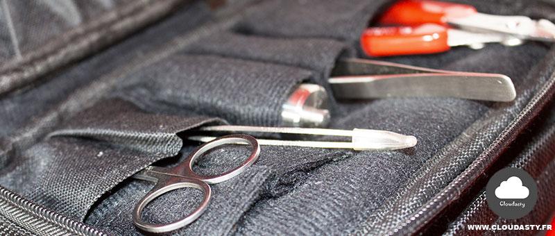 Vapor Pocket : Malette de transport pour la vape