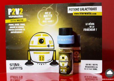 p2v2 vapdroide star watts - 3