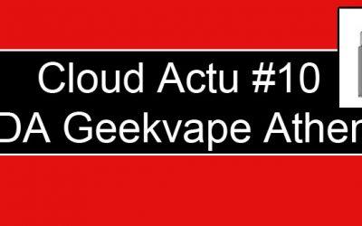 Geekvape Athena Squonk RDA : Dripper sans plots