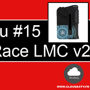 Limitless Arms Race LMC V2 : BoxMod de 200W avec un chipset unique