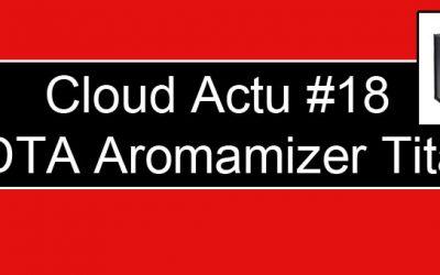 RDTA Aromamizer Titan de Steam Crave