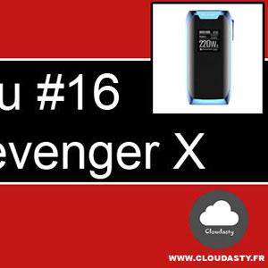 Vaporesso Revenger X : nouvelle BoxMod avec deux accus 18650