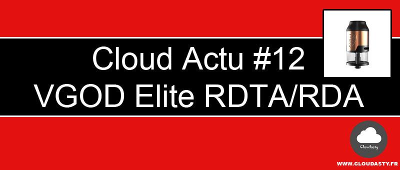 VGOD Elite RDTA et RDA avec Dual Post