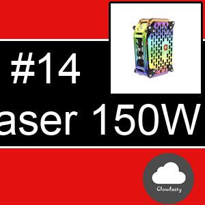 Box XOMO GT Laser 255X 150W avec batterie intégrée de 3500mAh