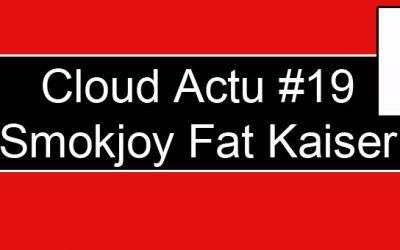 Smokjoy Fat Kaiser RTA : Atomiseur de 3 ml